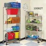 5-Tier Commercial Shelving System