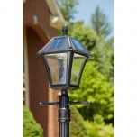 Bay Town II Outdoor Solar Lamp with Post