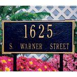 Roanoke Estate House Marker (Lawn)