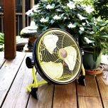 Battery Powered Cordless Outdoor Fan