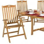 Teak Outdoor Dining Chair (Seven-Position)