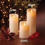 Flameless LED Candle (9 inches tall)