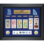 L.A. Dodgers Deluxe World Series Ticket Frame
