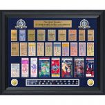 N.Y. Yankees Deluxe World Series Ticket Frame