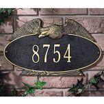 Eagle Oval House Marker (Wall)