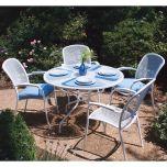 Kettler Wrought Iron Round Outdoor Table
