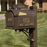 Custom Door Plaque (for Estate Mailbox)