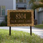 Palmetto House Marker (Lawn)