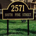 Arched House Marker (Lawn)