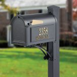 Estate Mailbox with 2 Side Panels