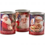 Santa Cocoa Set (three, 2½ ounce tins)