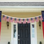 US Flag Garland