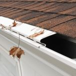 Solid Gutter Covers (White, Pack of 5)