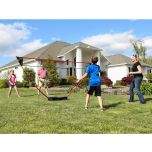 Freestanding Badminton Set