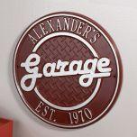 Personalized Garage Plaque