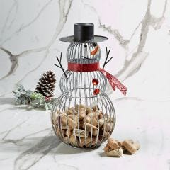 Snowman Cork Collector