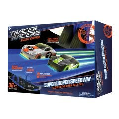 Glow in the Dark Super Looper Slot Car Set