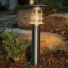 Stainless Steel Bollard Solar Light