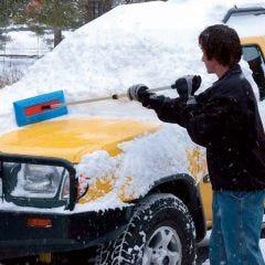 Snow Broom & Rake