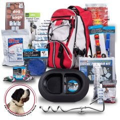 Emergency Pet Survival Backpack