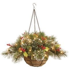 LED Pine Basket