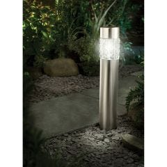 Stainless Steel Motion Sensing Bollard Solar Light