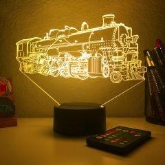3D Color Changing Lamps