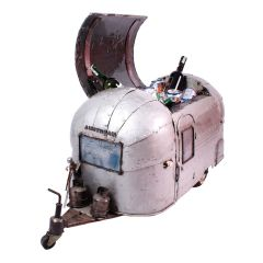 Steel Airstream Drink Cooler