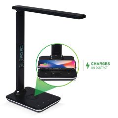 Flexible Desk Lamp with Wireless Charger