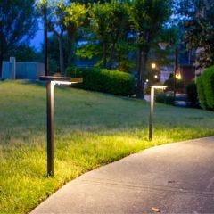 Contemporary Solar Path Light