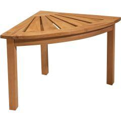 Corner Teak Table