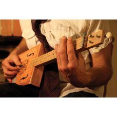 Electric Blues Box Guitar