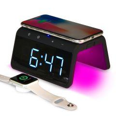 Multi-Color Nightlight Digital Alarm Clock