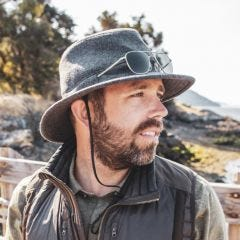 Cold Front Wool Charter Hat
