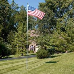 Flag Pole (21 ft. with 3 ft. x 5 ft. Flag)