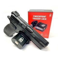 Biometric Trigger Gun Lock