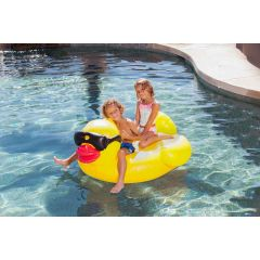 Inflatable Derby Duck Jr. Pool Float