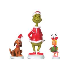 """Grinch, Max & Cindy"" The Grinch Accessory (Set of 3)"