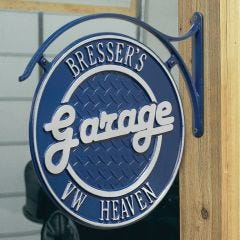 Deluxe Personalized Garage Plaque