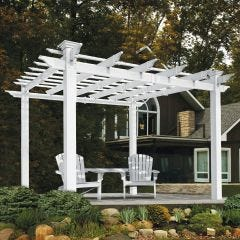 Vinyl Mirage Patio Arbor