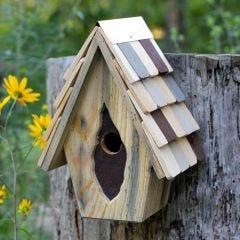 Vintage Wren Bird House