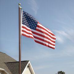 Bronze Flag Pole