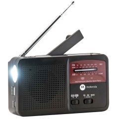 Solar Powered Portable AM/FM Weather Radio