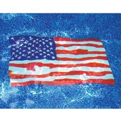Flag Poolmat       (36 by 59 inch)