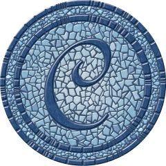 Monogram Poolmat (59 inch diameter)