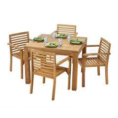 Teak Artisan Outdoor Dining Set