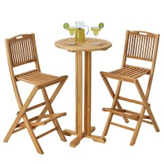 Teak Pub Outdoor Set