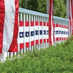 US Flag Banner Bunting