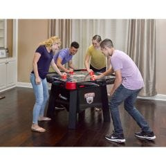 4-Player Air Hockey Table