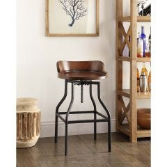 Forrester Barrel Adjustable Stool
